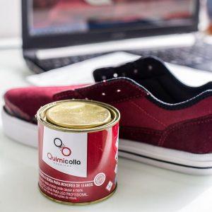 rendimento de cola para calçados