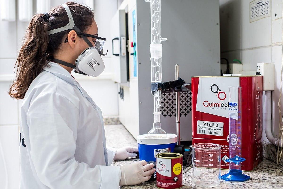 Segurança na indústria química capa